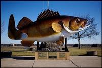 Walleye Statue