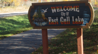 East Gull Lake Trails
