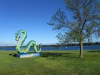 Serpent Lake-Swimming Beach