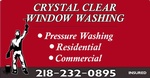 Crystal Clear Window Washing and Painting