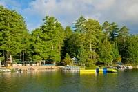 Broadwater Lodge on Woman Lake