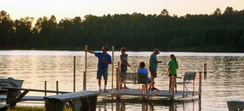 Fishing as a family is the #1 activity for guests within the Whitefish Area.