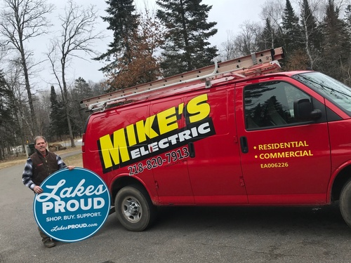 Mike's Electric is Lakes Proud