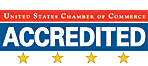 Four Star Accredited Chamber with the US Chamber of Commerce