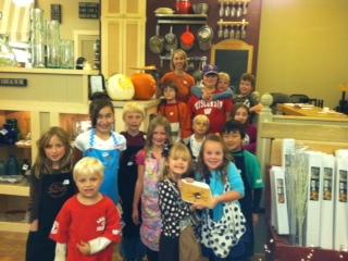 Kids Cooking Class Halloween