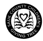Sauk County Children's Giving Tree
