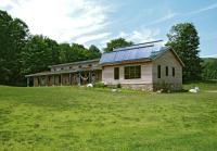 The Eco-Lodge provides accommodation for up to 33.