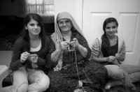 Meshketian Turkish knitters
