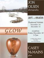 A Featured Artist Exhibit poster
