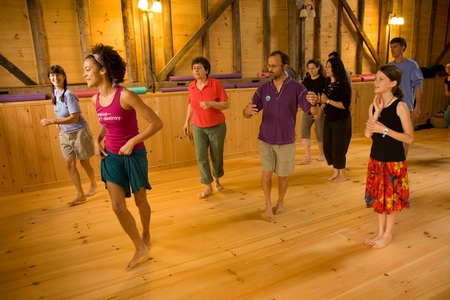 Camp Common Ground often features dance and wellness activities.