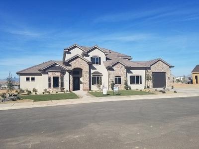 Custom home in Little Valley