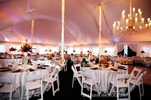 Fall Wedding - tent