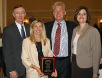 Winners of 2011 Small Business Person of the Year from the North Fulton Chamber of Commerce