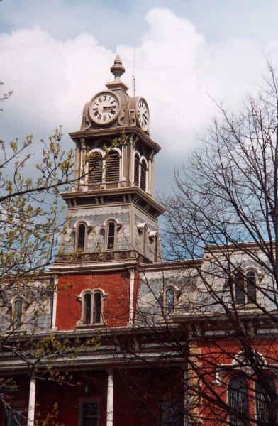 Medina, Ohio Courthouse Clock - Insurance