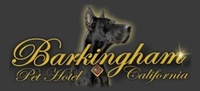 Barkingham Pet Hotel California