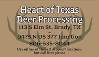 Heart of Texas Deer Processing