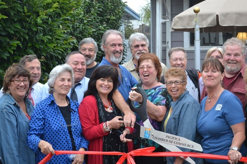Pacifica Chamber Ribbon Cutting Celebration at 35 years in business