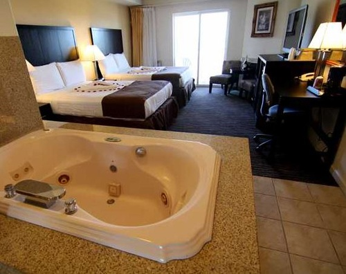 In-room Jacuzzis