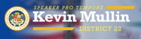 Assembly member Kevin Mullin, 22nd Assembly District