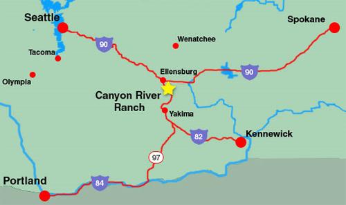 Canyon river ranch lodge resorts real estate for Betterall motors yakima wa
