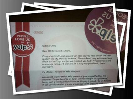 Check out what businesses are saying about us on Yelp!!