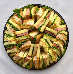 Finger Sandwich Catering Tray