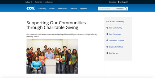 Cox Charitable Giving Foundation