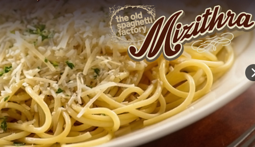 Old Spaghetti Factory San Marcos CA Famous Mizithra Cheese p2