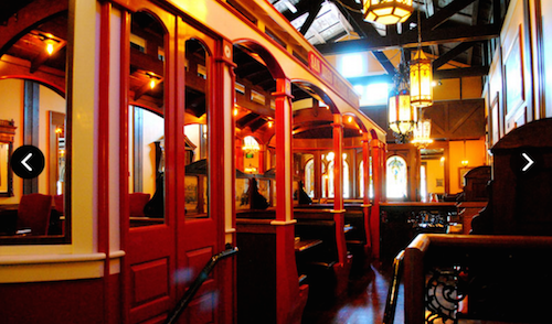 Old Spaghetti Factory San Marcos CA Rail Dining Car