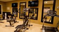 24 Hour State of the Art Fitness Center will keep you in shape while you travel