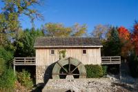 The Historic Hiram-Buttrick Sawmill, tucked behind downtown Antioch