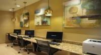 Full business center with 3 terminals, printer, fax and copy machines plus free high speed wireless internet throughout the hotel will keep you connected.