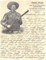 Wilde Jim French, early Antioch resident and Texas Saddle King. Learn about him at the archives. Wilde Jim had his own Wild West Show!