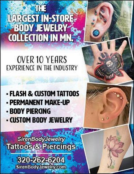 Siren Body Jewelry Tattoo and Piercing