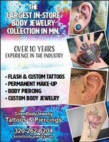Siren Body Jewelry Tattoo and Piercing