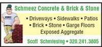 Schmeez Concrete and Brick & Stone