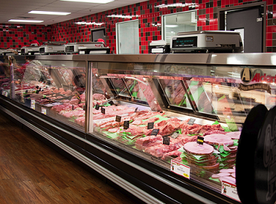 Meat, poultry, seafood at the Butcher Shoppe in Chambersburg.