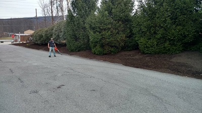 Landscape excellence includes mulching!