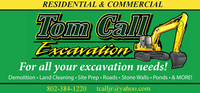 Tom Call Excavation
