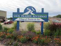 Prairie du Sac Welcome Sign