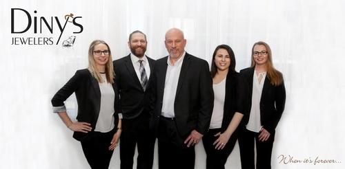 Diny's Staff. Sara Diny-Alexander, Nick Diny, Peter Diny, Kelsey Prost, Misty Monsen