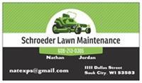 Schroeder Lawn Maintenance