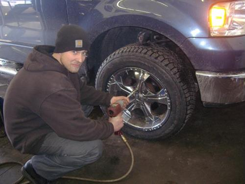 Free tire checks an fluid checks w/ oil change
