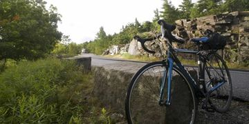 Cycling in Acadia National Park
