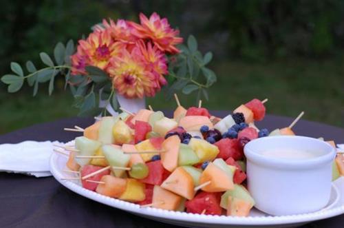 Fresh food beautifully prepared