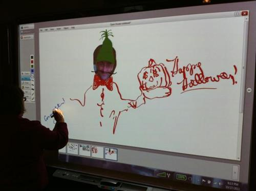 The SMART Board inspired the artist in everyone!