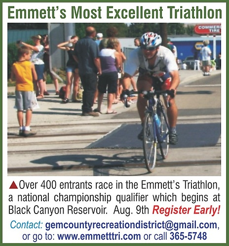 Emmett's Most Excellent Triathlon - a national championship qualifier