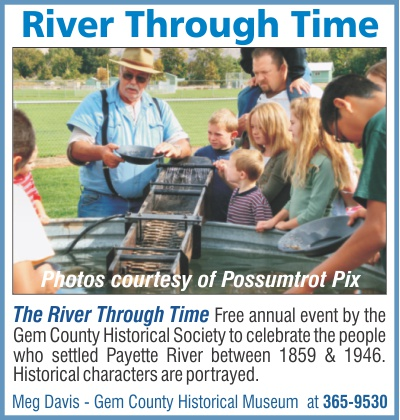 River Through Time - annual event by Gem County Historical Society