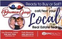 Bowman Group: Lisa Bowman Zeiter and Patti Bowman Fathom Realty