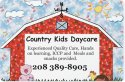 Country Kids Daycare